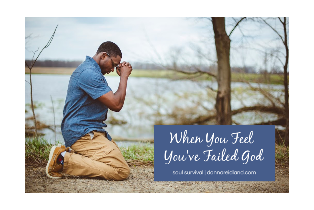 When You Feel Youve Failed God May 4 - Soul Survival